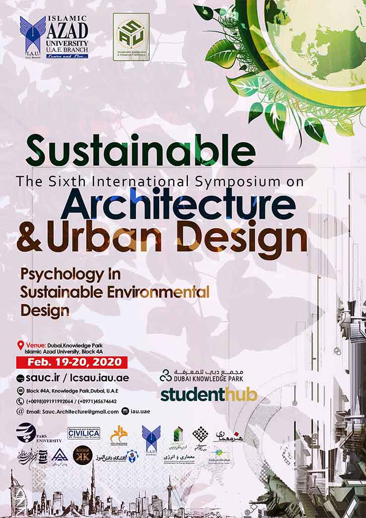 The Sixth International symposium on Sustainable Architecture & Urban Design