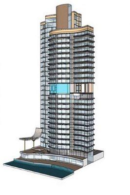 برج دو قلوی هتل و اداری مارینا