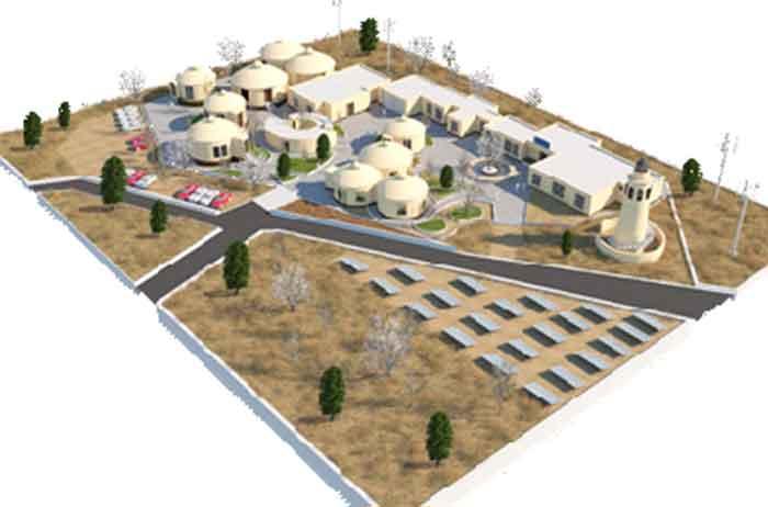 طراحی اکوکمپ بیابانی با رویکرد حفظ محیط